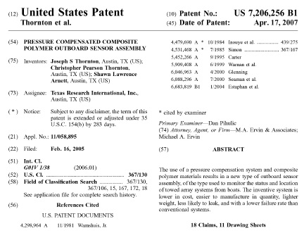 Patent cover sheet for Utility patent application template