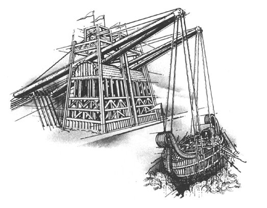 Archimedes Inventions Claw